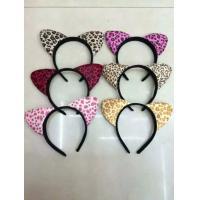Lovely Cat Ear Headband For Women Girls Cartoon Head Hoop Halloween Dress Party Hair Decoration