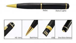 China Accept Logo Customization Pen Type Mini 1080p full hd Hidden Spy pinhole digital CMOS hidden IP camera mini pen camera on sale