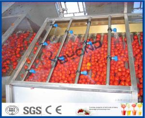 China Tomato Processing Machinery Tomato Processing Line For Tomato Juice / Tomato Paste Production on sale