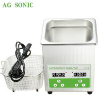 China Ultrasonic Cleaner  Sonic Bath 2l Household Use Jewelry Polishing Electronic Jewelry Cleaner on sale
