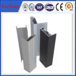 cadre en aluminium de panneau solaire d'extrusion, cadre en aluminium anodisé de panneau solaire, OEM
