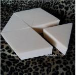 Cales sans latex de mousse d'hexagone
