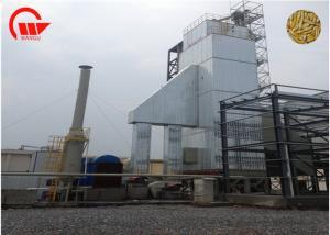 China Processing Paddy Dryer Machine 100 Tons Capacity Clean Hot Blast Heating Medium on sale