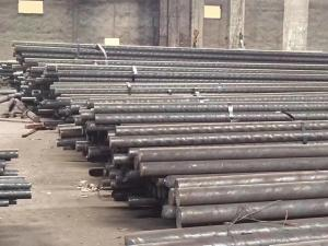 China Hot Rolled Stainless Steel Round Bar Stock JIS SUS420J2 Annealed Black Finish on sale