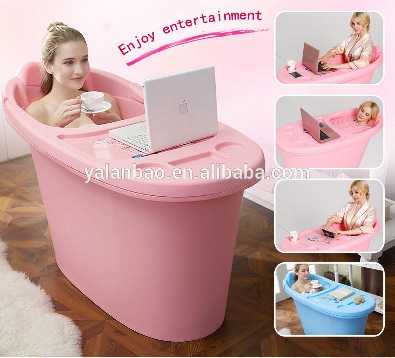 low price food grade plastic tub PP material adult bathtub portable ...