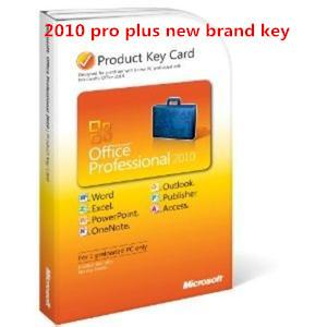 China Online Microsoft Office 2010 Product Key Card For Professional Plus 2010 on sale