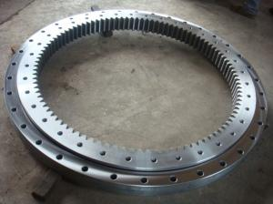 China tower crane slewing bearing, 50Mn, 42CrMo slewing bearing, plastic internal ring gear on sale