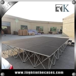 China Portable Folding Mobile Stage cheap portable stage For Event Party Use Easy Assemble on sale