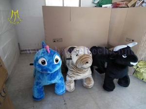 China Hansel hot sale outdoor game make anime plush doll animal kindom rides on sale
