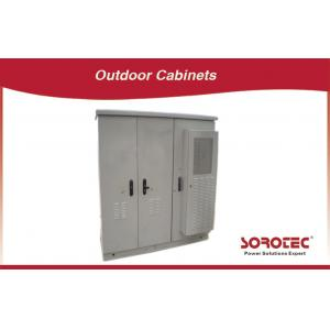 China Stainless Steel Outdoor Battery Cabinet For Power Supply , Telecom Outdoor Cabinet on sale