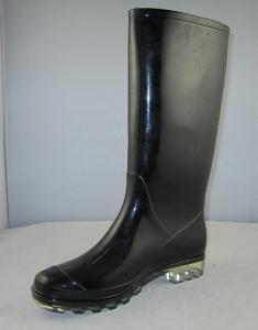 China black rain boot 0154 on sale