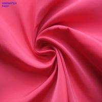 F4201 100% polester imitation memory fabric two tones with wr pu coating for jacket
