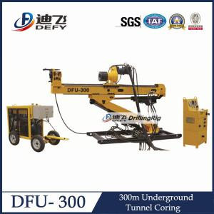 China Full Hydraulic Underground Drill Rig DFU-300 with NQ BQ on sale