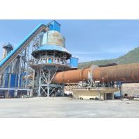China 2.5*44m rotary kiln / quicklime calcining kiln / active lime burning kiln on sale