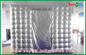 China Oxford Cloth Sliver Inflatable Photo Booth Mobile Photo-taking Tent on sale