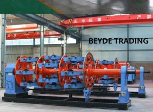 China High Speed Planetary Stranding Machine Customized Color S7-200 PLC Control on sale