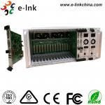 5U 16-Slot Rack Mount Card Type 4K DVI KVM Video to  Fiber Converter with Two-Year Warranty