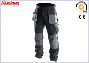 China Durable Multi Pockets Oxford Fabric Reinforcement Canvas Work Pants on sale