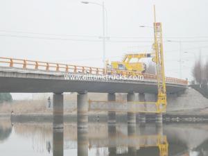 China Volvo Fm400 8x4 22m Under Mobile Bridge Inspection Unit Truck Mounted Access Platform on sale