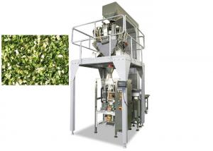 China Dry Vegetable Multi Head Packing Machine, 800ML Volume Weighing And Packing Machine on sale