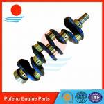 CNC machining crankshaft 4D95 with part No. 6202-31-1100 6207-31-1110 for KOMATSU excavator PC100-5