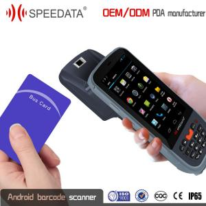 China Fingerprint UHF Rfid Handheld Reader Long Range Bluetooth 3G 4G Sim Card GPRS on sale