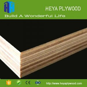 China HEYA 3 - 20 mm black film faced plywood boards melamine finish first ply wood company vietnam on sale