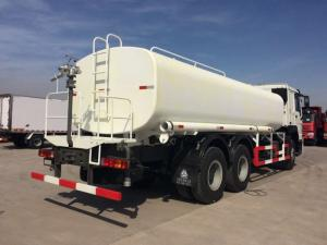 China HOWO Water Liquid Tank Truck 6 X 4 336HP Euro II Sprinkle Width 14-18mm on sale