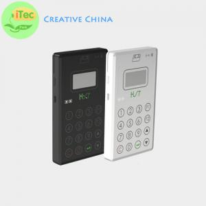 China Bluetooth Magnetic and smart card reader and writer with pinpad iTec-PPD emv card reader on sale