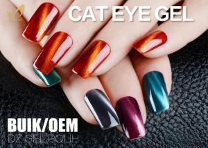 China Solvent Free Changable Cat Eye Gel Nail Polish 3D Effect Liquid No Nicks on sale