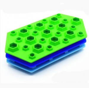 China Jumbo Small Ice Cube Trays , Fun Ice Cube Trays 27 Cavity Large Capacity on sale