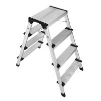 China Compact Size Aluminum Step Stool 2x4 Steps  Easy To Carry And Store on sale