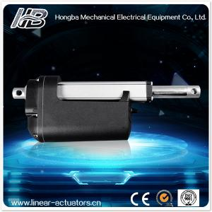 China pull push solenoid atuador linear & 12V Input voltage for Flatbed Container Semi Trailer on sale