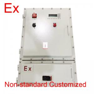 China Custom IP65 Explosion Proof Panel / Power Distribution Box With Cast Aluminum on sale