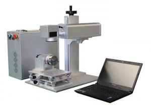 Quality Fast Speed Fiber Laser Marking Machine Low Consumption Power 3 Years Warranty for sale