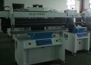 China LED Tube Light PCB SMT Screen Printer , 1.2 Meter Solder Paste Stencil Printer on sale