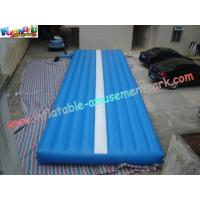 Inflatable Sports Game Air Tumble Track, Professional Gym Tumble Track For Tumbling Sports