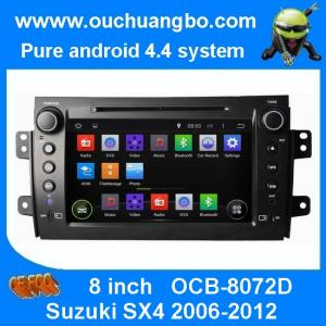 China Ouchuangbo Auto Stereo DVD Multimedia Kit for Suzuki SX4 2006-2012 Android 4.4 GPS Nav Radio Player OCB-8072D on sale