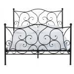 fashional様式の魅力的な金属フレームのベッド、鉄骨構造が付いている平野の耐久財