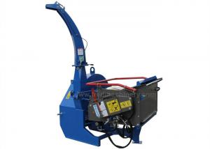 China Custom Color BX72R Heavy Duty Wood Chipper 40 - 100HP 7 Inch Chiooing Capacity on sale