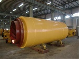 China High output Large Capacity Sludge Rotary Drum Dryer machine with smooth rotation on sale