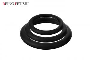 China Latex Free Vibrating C Ring 100% Silicone Material Medical Grade Three Different Size on sale