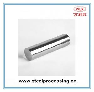 China Forged round steel bar chrome steel rod CK45 hard chrome plated hydraulic cylinder piston rod on sale