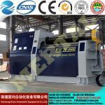 QUENTE! MCLW12CNC, máquina de rolamento pequena hidráulica da placa de quatro rolos do CNC