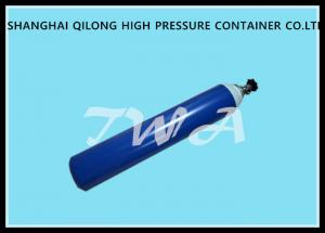 Quality TWA Industrial CO2 Gas Cylinder , 10L Stainless Steel Gas Bottle for sale