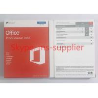 Original Microsoft Office 2016 Pro 32/64 Bit For 1 Windows PC Full Version