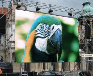 China Full Color Led Video Wall Rental Outdoor Aluminum Cabinet High Brightness on sale