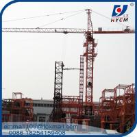 QTZ160 65M Jib Tower Crane 10t Load Construction Projects Machinery