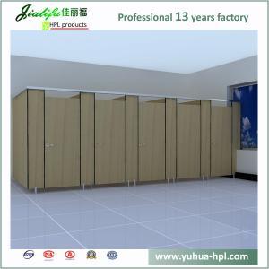 China Jialifu Fortune hotel Elegant design compact hpl toilet cubicle on sale