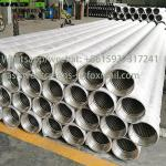 China factory of Wire Wrapped Continuous Slot Johnson Strainer Pipe  for  Water Well Drilling